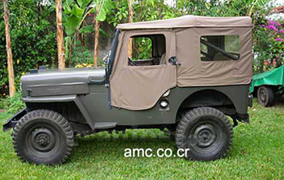 1953 Willys Jeep, Costa Rica