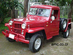 1953 Willys Pickup, Costa Rica