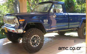 1974 AMC Jeep J20, Costa Rica