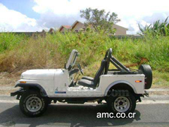 1975 AMC Jeep CJ5, Costa Rica