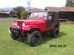 1978 AMC Jeep CJ5, Costa Rica