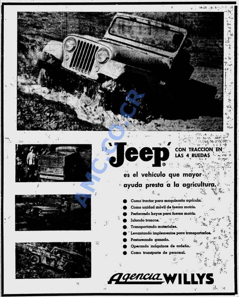newest 7be75 311cf 1957 Jeep Willys 4x4 in river